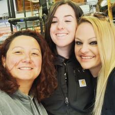 The gals at Garrison