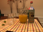 The recipe called for Vodka (which we did, at first)