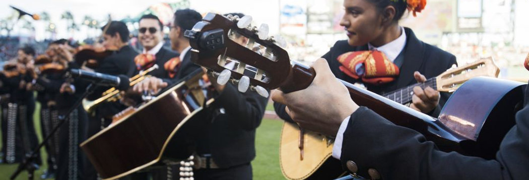 Mariachi at Giants Game