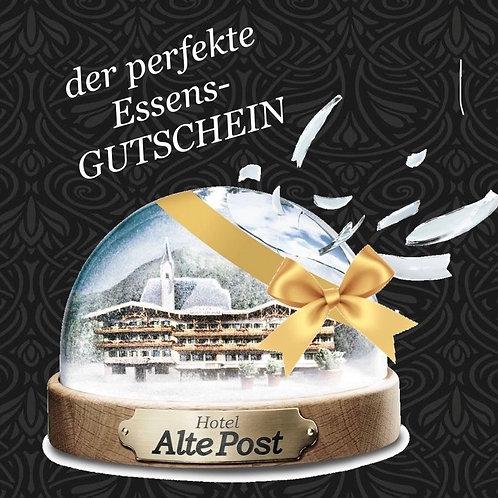 Gutschein Hotel-Restaurant Alte Post Fieberbrunn