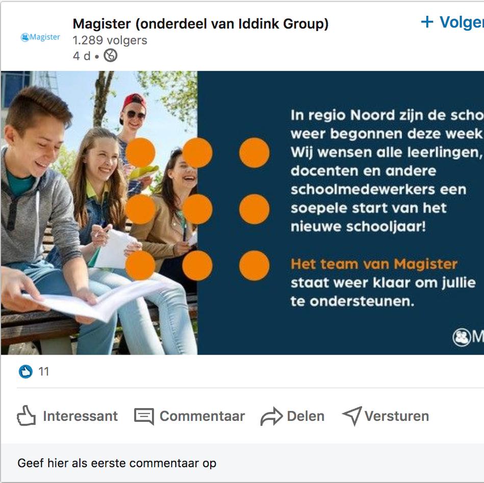 Magister - Linkedinposts