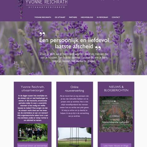 Website Yvonne Reichrath