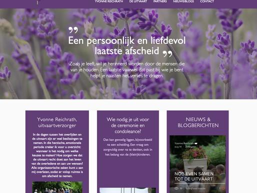 Een nieuwe website!