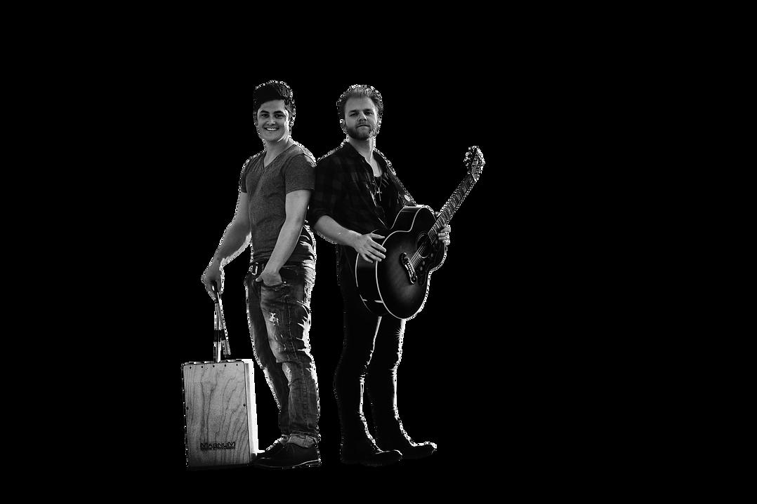 Stadtkind Musik Band Duo Laurin Jonathan Straßenmusik Musiker Gitarre Cajon
