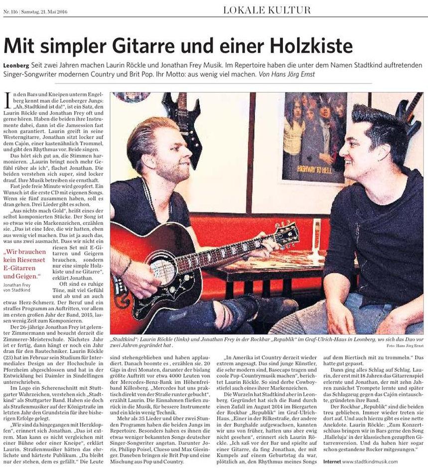 Stadtkind Band Live Band Live Musik Zeitung