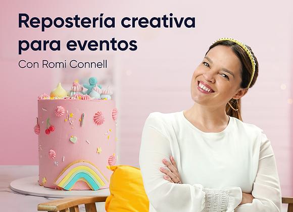 Reposteria Creativa para eventos!