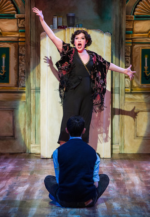 Drew as The Chaperone in The Drowsy Chaperone