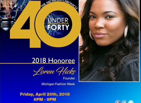 Michigan Chronicle C/O 40 under 40
