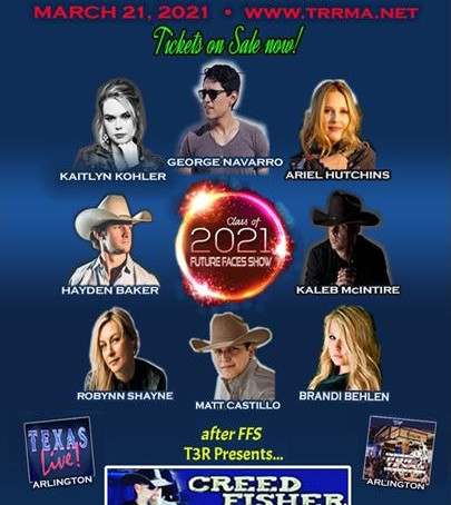 "HAYDEN BAKER TO PERFORM AT TEXAS REGIONAL RADIO ""FUTURE FACES SHOW"""