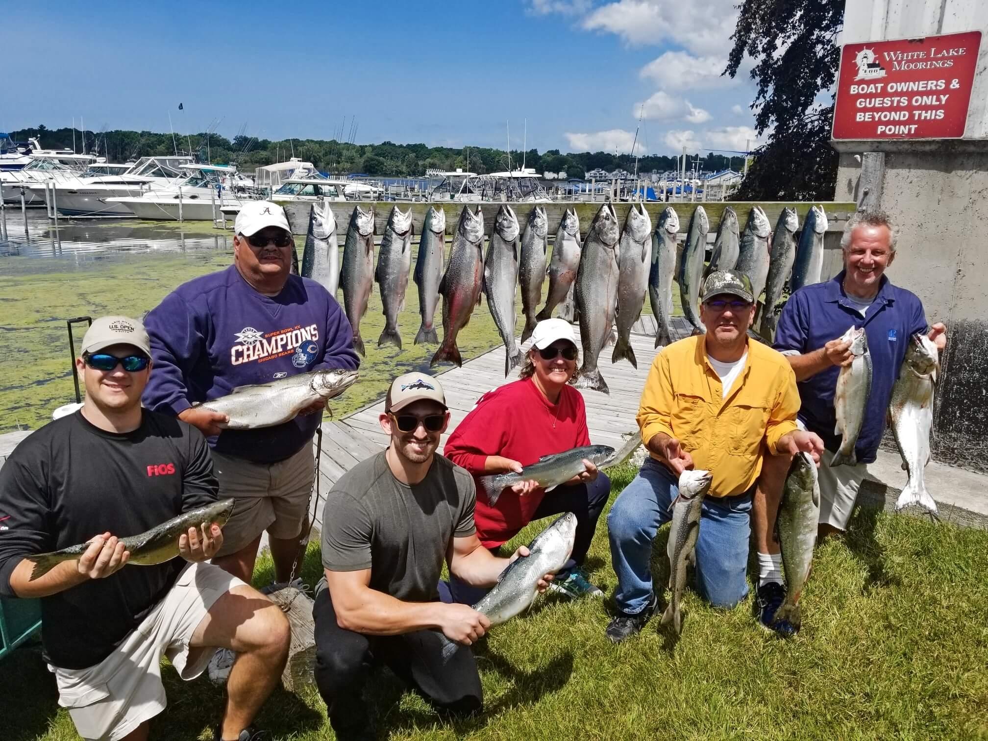 lake michigan fish west michigan guide s