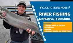 river fishing 2ple 2&4hrs