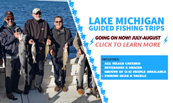Lake Michigan Guided Trips