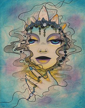 Calypso Goddess of the Sea Print