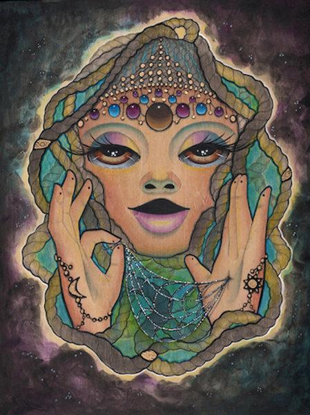 Anansi the Spider Goddess Print