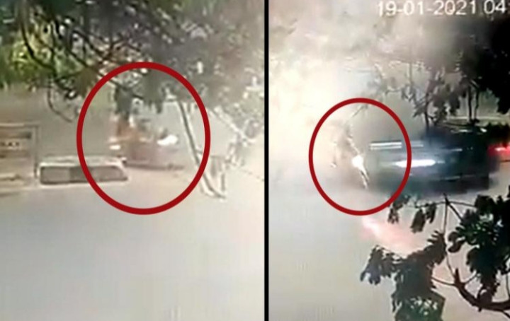 Collected from CCTV Footage, The times news