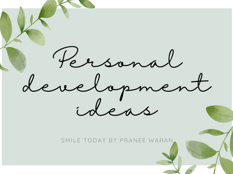 Personal development ideas to better yourself