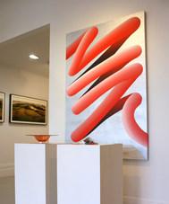 Big Red, 2018 (installation view, Black Door Gallery)