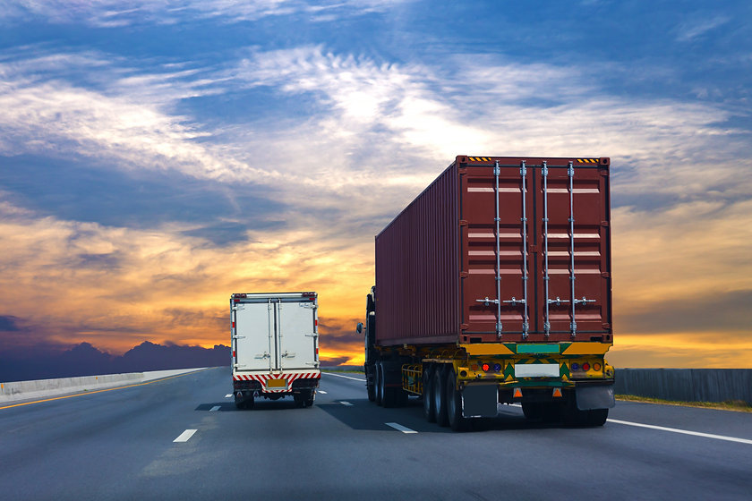 truck-highway-road-with-red-container-tr