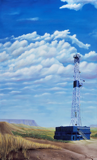 """Big Sky Texas"" by Robert S Dilling"