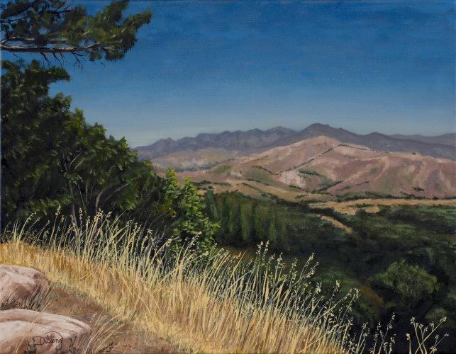 """Santa Ynez Valley, CA"" by Robert S Dilling"