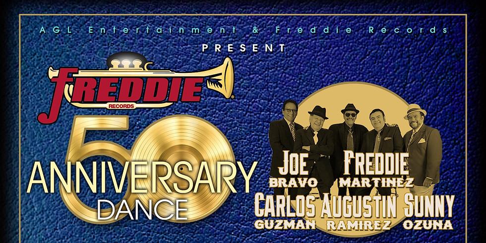 Freddie Records 50th Anniversary