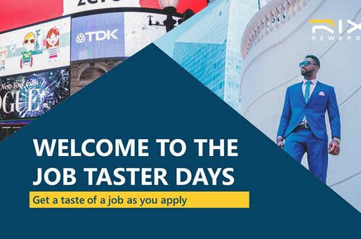 Welcome to the Job Taster Days!