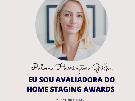 O Núcleo de Home Staging está apoiando o Home Staging Awards 2020
