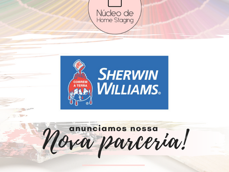 Núcleo de Home Staging fecha parceria com a Sherwin-Williams