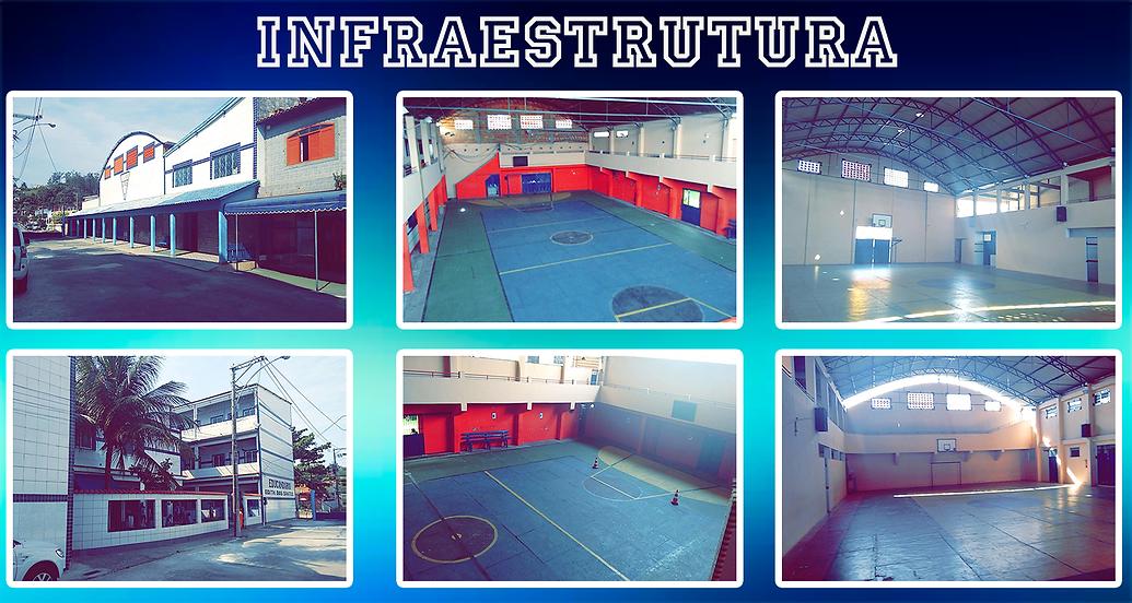 Infraestrutura da escola