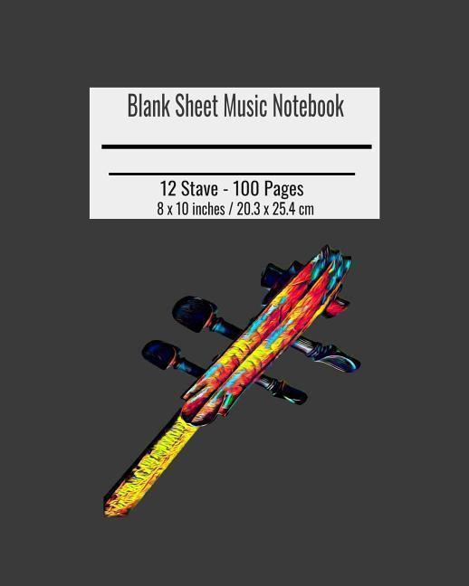 Blank Sheet Music: Cello Keys Cover