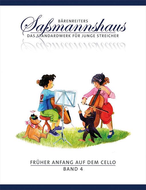 Sassmannshaus: Früher Anfang auf dem Cello. Band 4