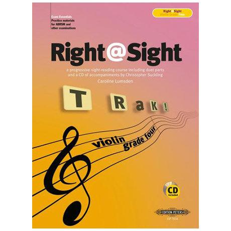 Right@Sight for Cello Grade 4 (+CD)