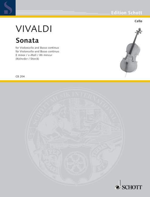 Vivaldi: Sonata e-Moll