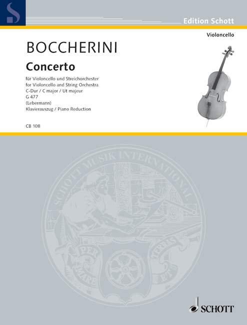 Concerto Nr. 1 C-Dur G 477