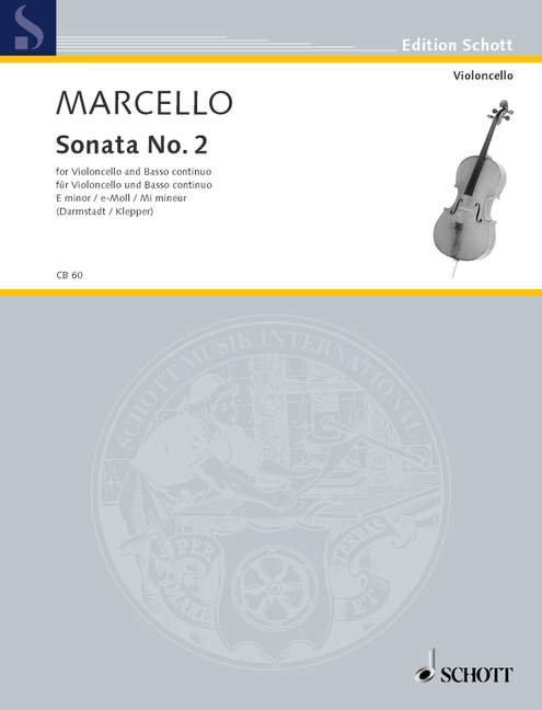 Marcello: Sonata II e-Moll