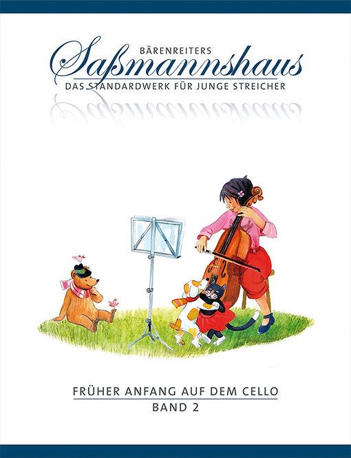 Sassmannshaus: Früher Anfang auf dem Cello. Band 2