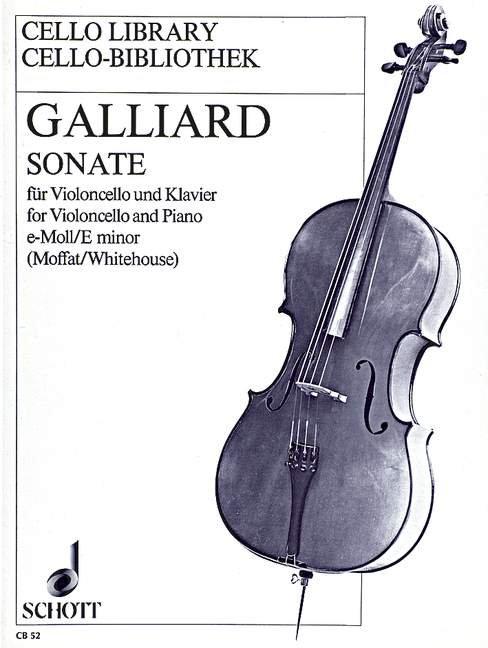 Sonate e-Moll