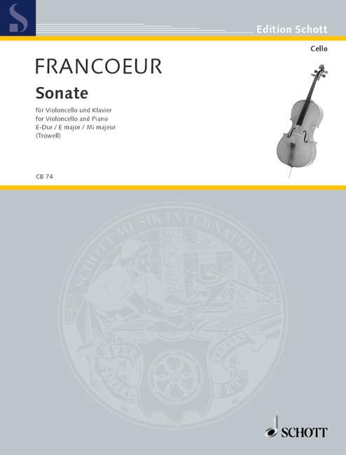 Francoeur: Sonate E-Dur