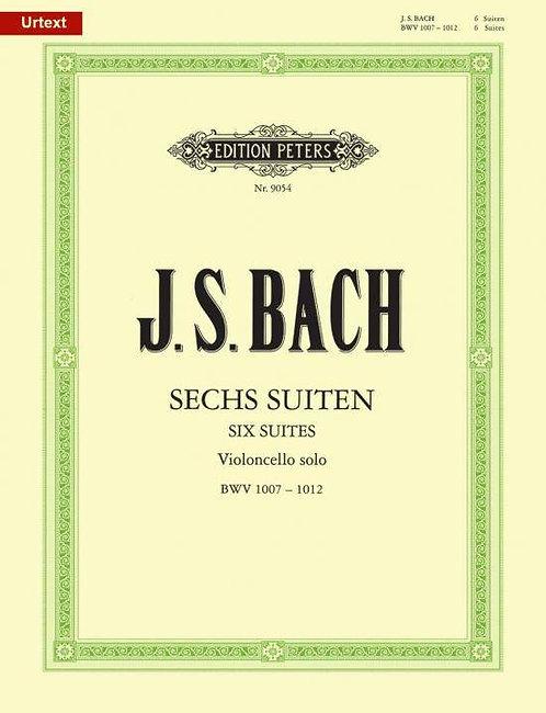 Bach: Suiten für Violoncello solo BWV 1007-1012 (Urtext)