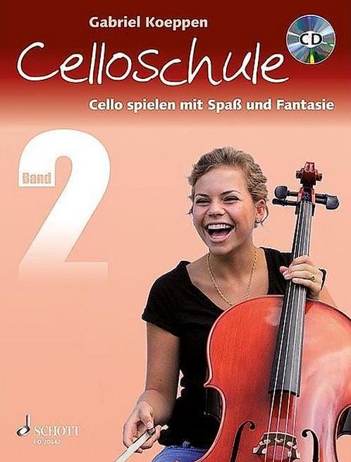 Celloschule. Cello Spielen mit Spass und Fantasie. Band 2 (mit CD)
