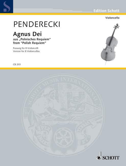 Penderecki: Agnus Dei
