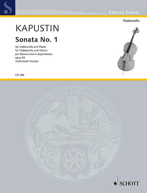 Kapustin: Sonata No. 1 op. 63