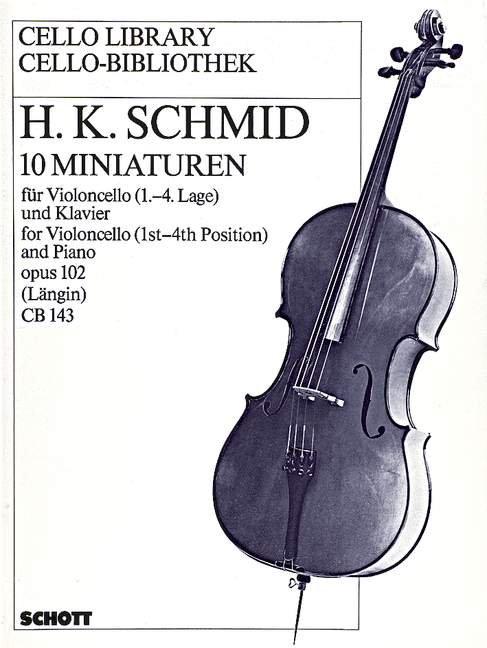 10 Miniaturen op. 102