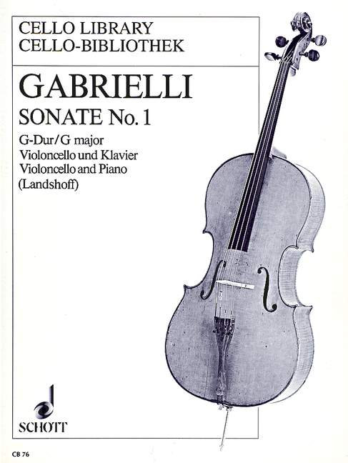Gabrielli: Sonate Nr. 1 G-Dur