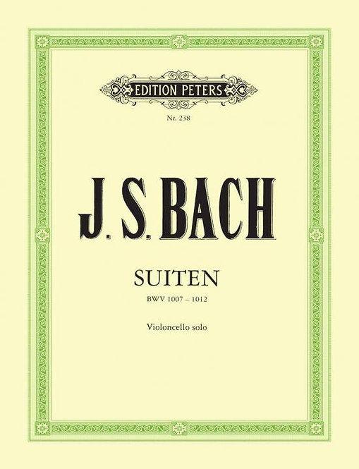Bach: Suiten für Violoncello solo BWV 1007-1012