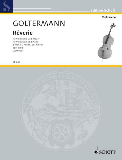 Goltermann: Rêverie g-Moll op. 92/2