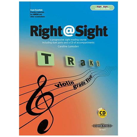 Right@Sight for Cello Grade 5 (+CD)