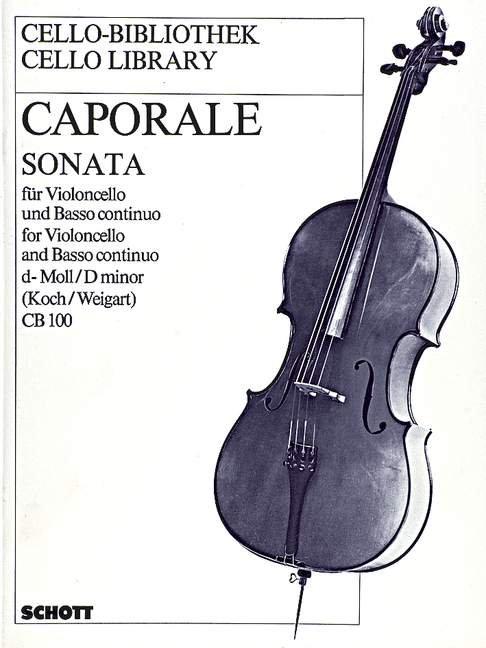 Caporale: Sonata d-Moll