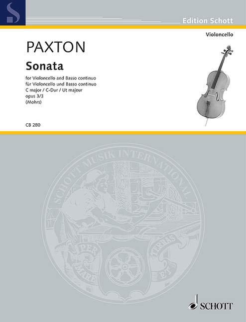 Paxton: Sonata C-Dur op. 3/3