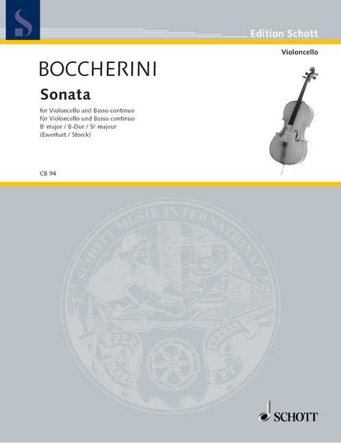 Boccherini: Sonata B-Dur G 12